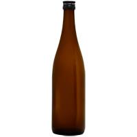 茶色光沢瓶720ml