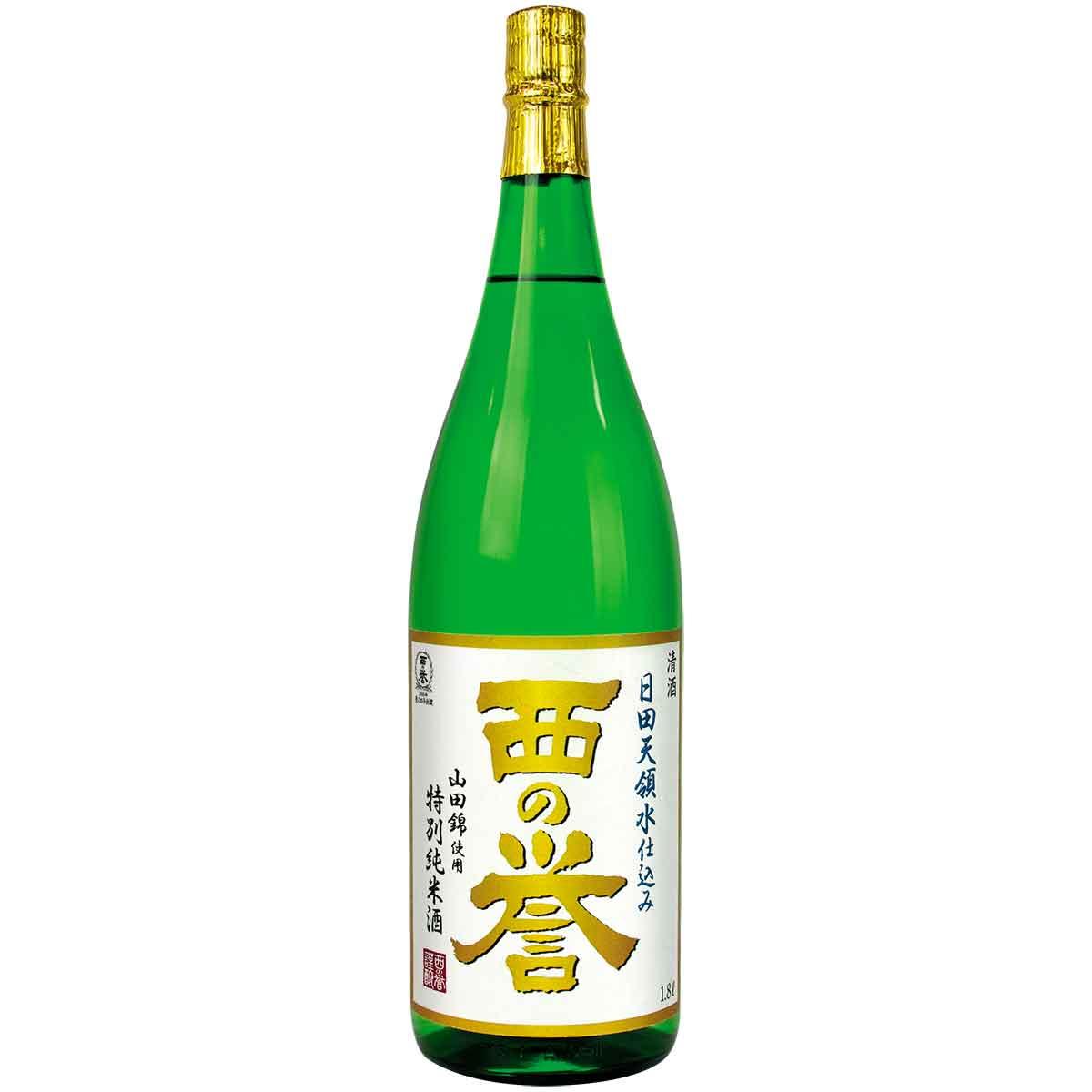 特別純米酒 西の誉 1.8L